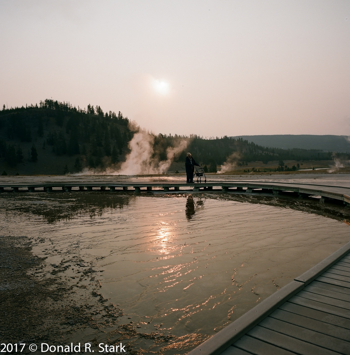 Grand Prismatic Spring in Yellowstone NP